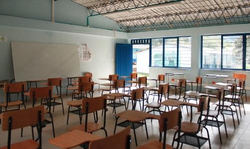 Aula construida en la Institución Educativa Acesi – Sede Guapió