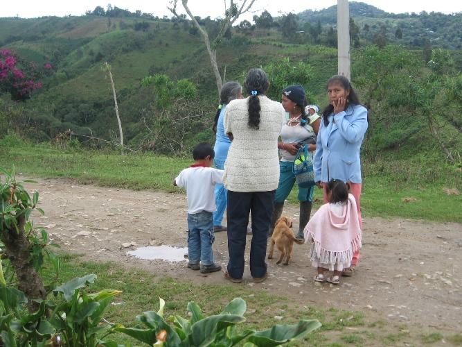 Comunidad del reasentamiento de El Carmen, La Estrella