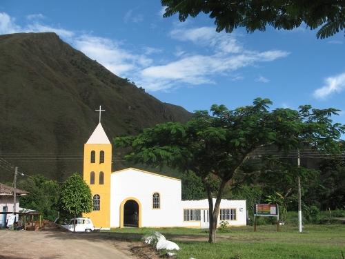 Iglesia de Puerto Valencia, municipio de Inzá