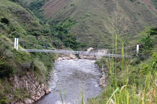 Puente peatonal y caballar de Aranzazu