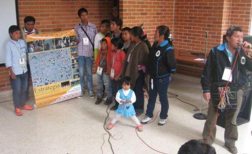 II Bienal Nacional de Niños y Niñas que viven en zonas de amenaza volcánica