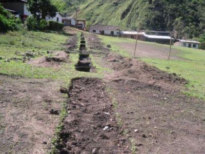 Obras de Alcantarillado, Coquiyó, resguardo de Togoima, municipio de Páez