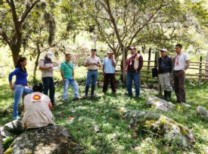 Asistencia técnica a los productores hace parte de las acciones emprendidas