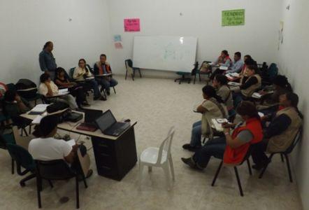 Reunión de concentración con Asociación Nasa Cxha Cxha