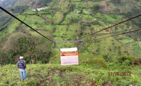 Cable vía San José