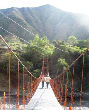 Puente peatonal y caballar de Casarrocines, noviembre de 2012