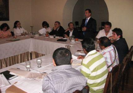 Consejo Directivo, 22 de septiembre de 2011