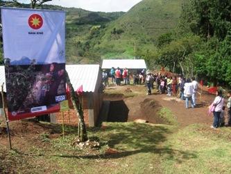 Beneficiarios de viviendas de interés social rural en Totoró
