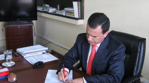 John Diego Parra Tobar, Director General de la Corporación Nasa Kiwe