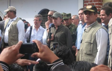 Presidente Juan Manuel Santos en Toribío