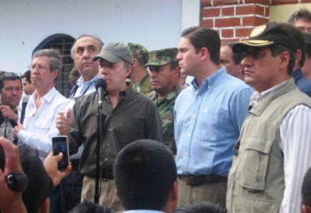 Consejo de Ministros en Toribío, Cauca