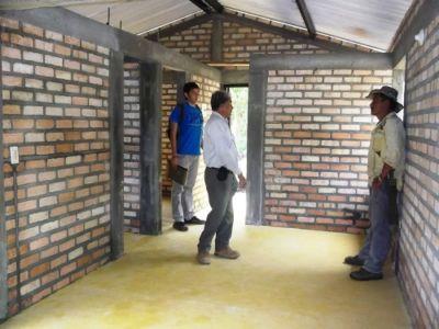 Proyecto de reubicación en Laderas, municipio de La Plata