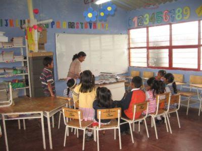 Escuela del reasentamiento El Carmen – La Estrella