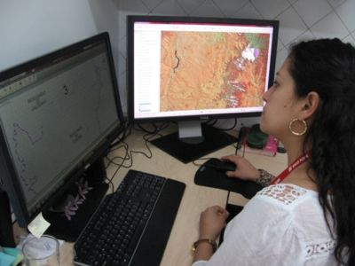 SIG y GPS, nuevos sistemas de información para la CNK