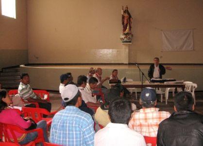 Reunión de Socialización Presupuesto y Plan de Acción 2012