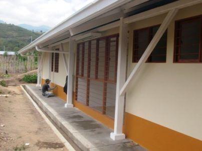 Puesto de Salud Mesa de Caloto, municipio de Páez, Cauca