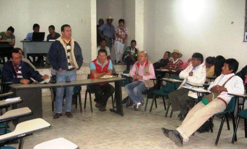 Reunión con la Asociación de Cabildos Nasa Chacha