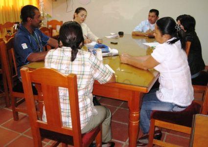 Reunión de Concertación de Acciones en la Normal de Belalcázar