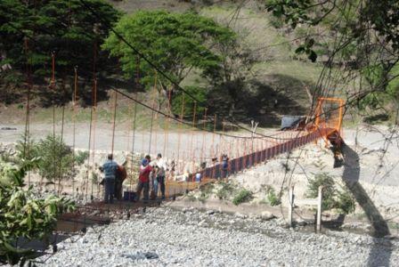Puente Cansarrocines, octubre de 2012