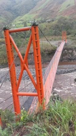 Puente peatonal y caballar de Guadualejo 2015