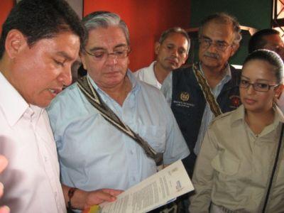 Ministerior declarado Páez por adopción