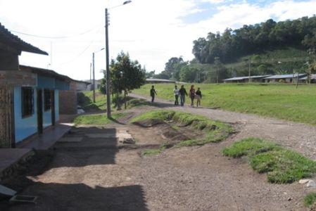 Resguardo de Potreritos, municipio de La Plata