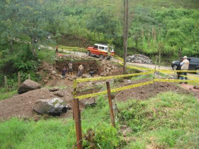 Puente sobre la quebrada La Pedregosa