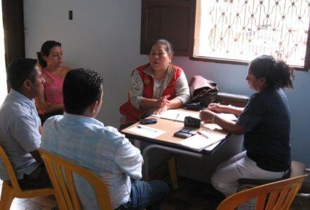 Reunión con Directores de Emisoras Comunitarias en Páez