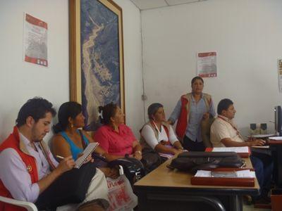 Reunión de socialización proceso de reubicación La Plata