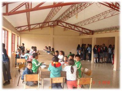 Restaurante escolar, resguardo de Mosoco