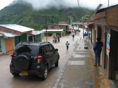 Reasentamiento de Rionegro, municipio de Íquira
