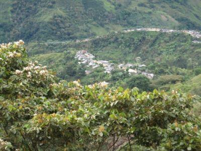 Panorámica Rionegro, municipio de Íquira