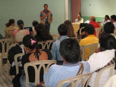 Socialización documento CONPES, Inzá