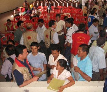 Trabajo con las comunidades en La Plata