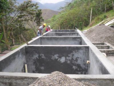 Sistema de acueducto en Tálaga