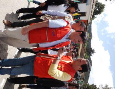 Director General de la Corporación Nasa Kiwe en conmemoración del Bicentenario de Totoró