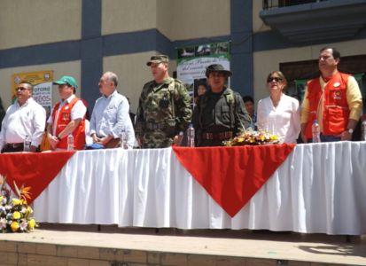 Ministro del Interior, Juan Fernando Cristo Bustos, en conmemoración de los 200 años de fundación