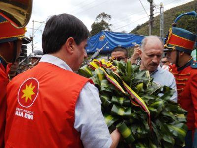 Ministro del Interior, Juan Fernando Cristo Bustos, en conmemoración d elos 2200 años de fundación de Totoró