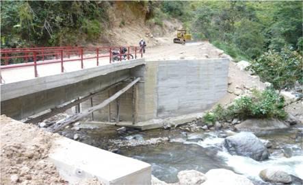 Puente sector de Barbacoas