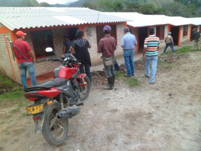 Panorámica viviendas reubicadas en Mesa de Togoima