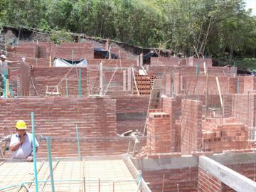 Este es el aspecto de la obra del Proyecto Las Américas, en abril de 2010