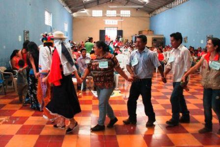 I Encuentro de Familias Reasentadas efectuado en el municipio de Páez