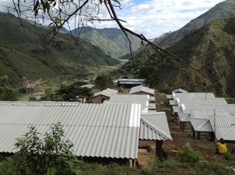 Proyecto de reubicación de vivienda, Guapió, Alto Putumayo, municipio de Páez