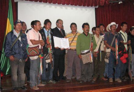 Las comunidades Indígenas, participes de la certificación de calidad