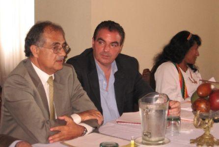 El Viceministro del Interior, Aurelio Iragorri Valencia, presidió su primer Consejo Directivo de la CNK