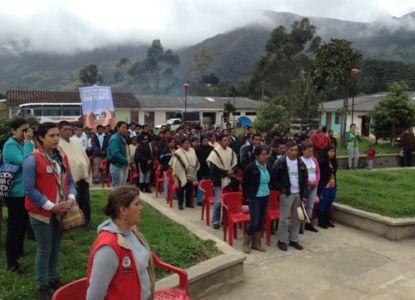 Familias beneficiarias del Convenio Banagrario – Gobernación del Cauca – CNK para la atención de afectados