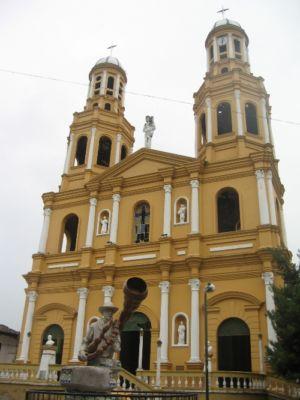 Iglesia San Sebastián, municipio de La Plata