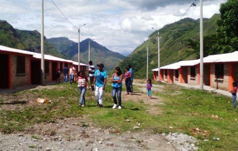 Proyecto de Reubicación en Mesa de Togoima, municipio de Páez, Cauca