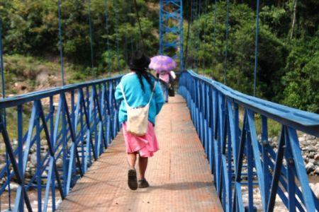 Puente peatonal y caballar de San Miguel