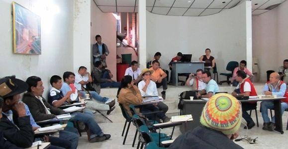 Reunión de concertación con Nasa Chacha